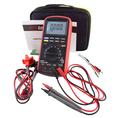 insulation tester megohmmeter set with leads
